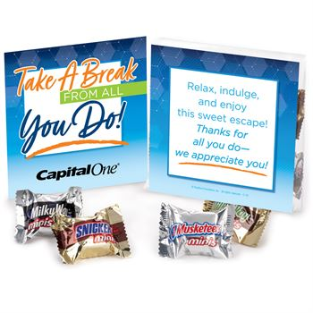 Take A Break From All You Do Treat Pack - Personalization Available
