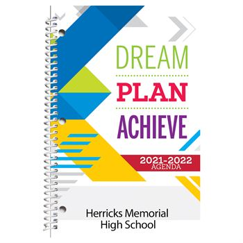 Dream, Plan, Achieve Academic Planner - Personalization Available