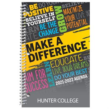 Dream, Plan, Make A Difference Academic Planner