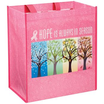 Hope Is Always In Season Laminated Eco-Shopper Tote
