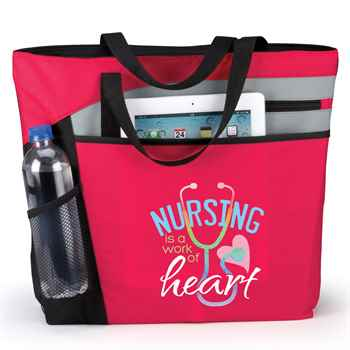 Nursing Is A Work Of Heart Mercer Tote