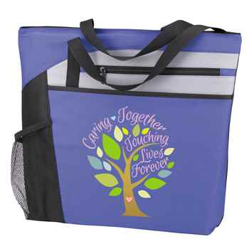 Caring Together, Touching Lives Forever Mercer Tote Bag