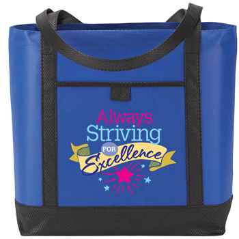 Always Striving For Excellence Greenport Non-Woven Boat Bag