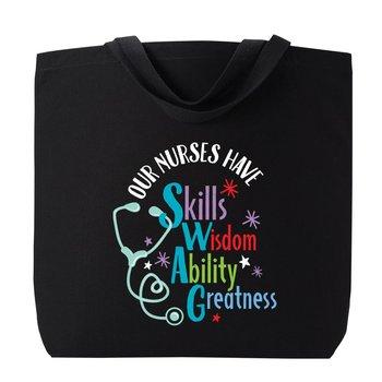 Our Nurses Have SWAG Harrison Cotton Tote Bag