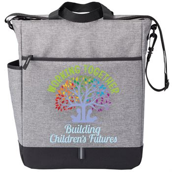 Working Together Building Children's Futures Fairfield Tote Bag