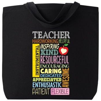 Teacher Cloud Harrison Cotton Tote Bag