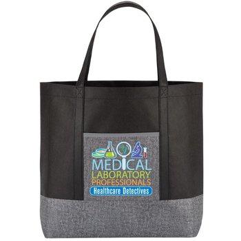 Medical Laboratory Professionals Healthcare Detectives Denim Non-Woven Tote Bag