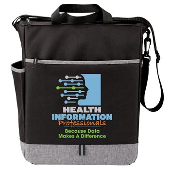 Health Information Professionals: Because Data Makes A Difference Fairfield Tote Bag