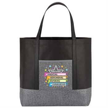 Thanks For Being Epic Denim Non-Woven Tote Bag