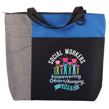 Social Worker's: Empowering Others, Changing Lives Ashland Tote Bag