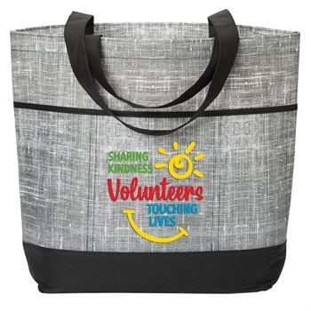 Volunteers:Sharing Kindness, Touching Lives Mailbu Non-Woven Tote Bag