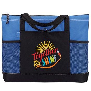 Together We All Shine Moreno Multipocket Tote Bag