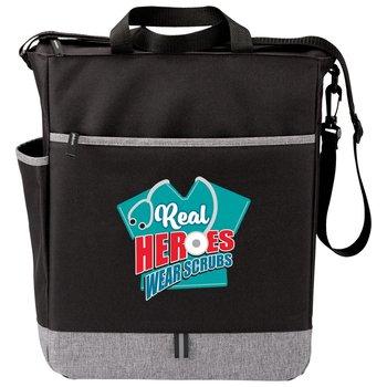 Real Heroes Wear Scrubs Fairfield Tote Bag