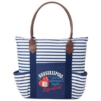 Housekeeping: We've Always Been Essential Nantucket Tote Bag