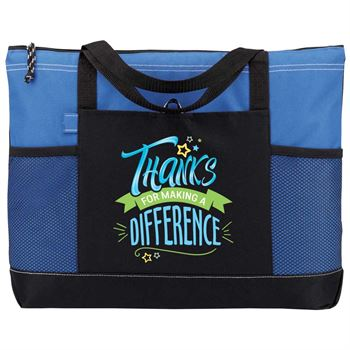 Thanks For Making A Difference Moreno Multi-Pocket Tote Bag