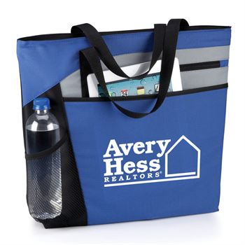 Mercer Blue Tote Bag - Personalization Available