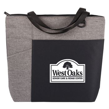 Gray/Gray Ashland Tote Bag - Personalization Available