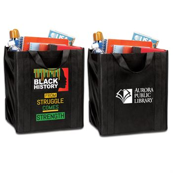 Black History: From Struggle Comes Strength Tote Bag with Personalization