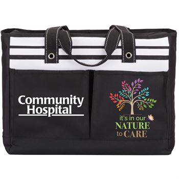 It's In Our Nature To Care Traveler Two-Pocket Tote Bag - Personalization Available
