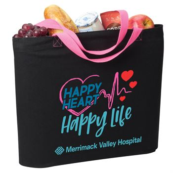 Happy Heart, Happy Life Harrison Eco Tote Bag - Personalization Available