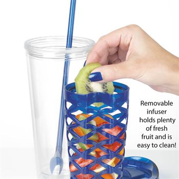 Thanks For Making A Difference Fruit-To-Go Infuser Tumbler