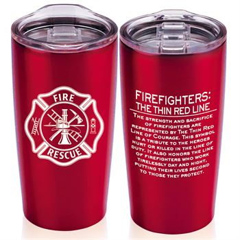 Firefighters: The Thin Red Line Everest Tumbler 20-Oz.