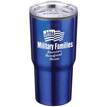 Military Families Timber Insulated Stainless Steel Travel Tumbler 20-Oz.