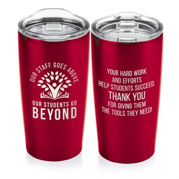 Our Staff Goes Above, Our Students Go Beyond Everest Vacuum Tumbler