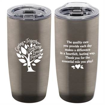 Caring Together, Touching Lives Forever Stainless Steel Insulated  Tumbler 20-Oz.
