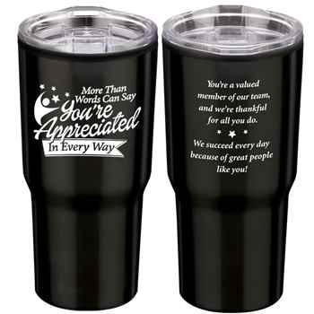 More Than Words Can Say You're Appreciated In Every Way Timber Tumbler 20-Oz.