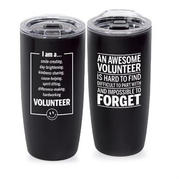 An Awesome Volunteer Is Hard To Find Sierra Insulated Acrylic Tumbler Tumbler 19-Oz.