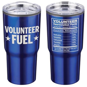 Volunteer Fuel Timber Insulated Stainless Steel Travel Tumbler 20-Oz.