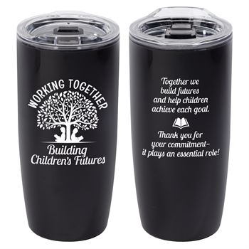 Working Together Building Children's Future Sierra Insulated Acrylic Tumbler 19-oz.