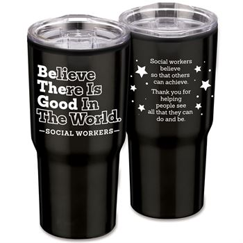 Be The Good Timber Insulated Stainless Steel Travel Tumbler 20-Oz.