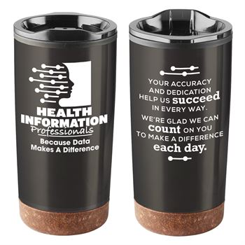 Health Information Professionals: Because Data Makes A Difference Durango Stainless Steel Tumbler 20-Oz.