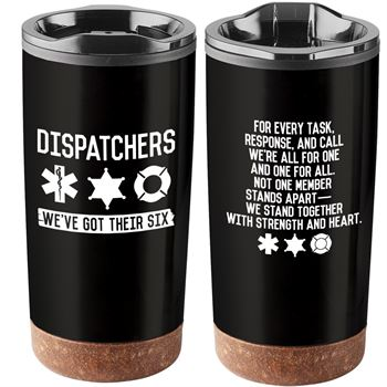 911 Dispatchers Nerves Of Steel Heart Of Gold Durango Stainless Steel Tumbler 20-Oz.