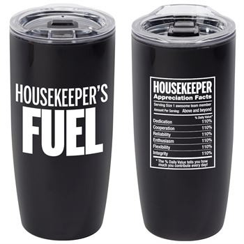 Housekeeper's Fuel Sierra Insulated Acrylic Tumbler 19-oz.