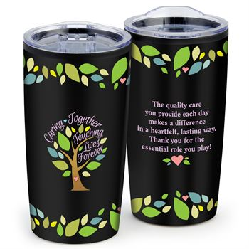 Caring Together, Touching Lives Forever Teton Stainless Steel Tumbler 20-Oz.