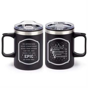Thanks For Being EPIC Sonoma Stainless Steel Mug 12-Oz.