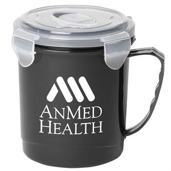 Soup Mug With Locking Lid 24-Oz. - Personalization Available