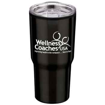 Black Timber Insulated Stainless Steel Travel Tumbler 20-Oz. - Personalization Available