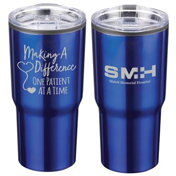 Making A Difference One Patient At A Time Timber Insulated Stainless Steel Travel Tumbler 20-Oz. - Personalization Available