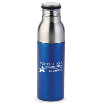 Double Take 2-In-1 Bottle-To-Tumbler (Blue) - 1-Color Personalization Available