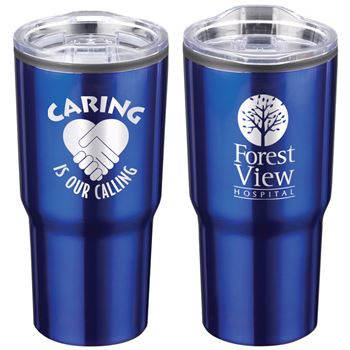 Caring Is Our Calling Timber Insulated Stainless Steel Travel Tumbler 20-Oz. - Personalization Available