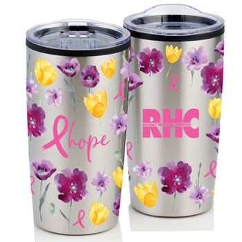 Hope Floral Teton Stainless Steel Tumbler 20-Oz. - Personalization Available