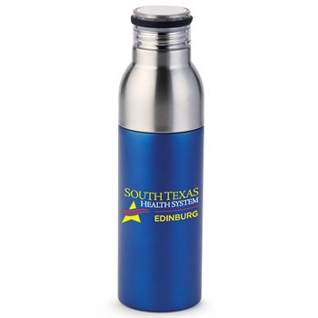 Blue Double Take 2-In-1 Bottle-To-Tumbler - Full Color Personalization Available