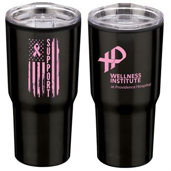 Timber Insulated Stainless Steel Travel Tumbler Plus Personalization