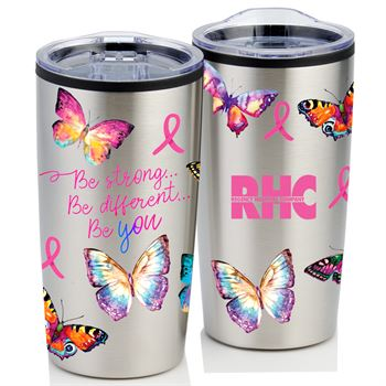 Butterflies Teton Stainless Steel Tumbler 20-Oz. - Personalization Available