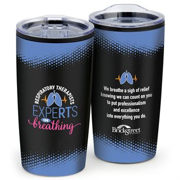 Respiratory Therapists: ExpeRTs In Breathing Teton Stainless Steel Tumbler 20-Oz. - Personalization Available