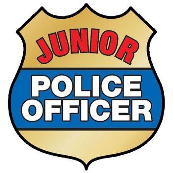 Junior Police Officer Temporary Tattoo